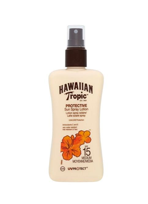 Hawaiian Tropic Protective Sun Spray Lotion SPF15 200Ml Renksiz